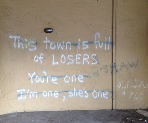 loser, quotes, and grunge image