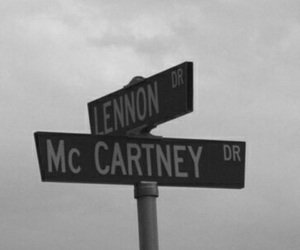 beatles, lennon, and music image