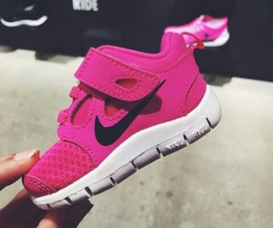 baby, fashion, and nike image