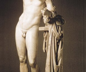 art, sculpture, and hermes image