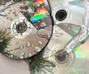 cd, grunge, and water image