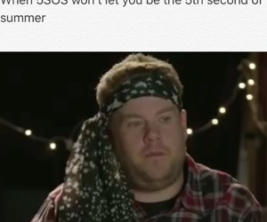 funny, james corden, and 5sos image