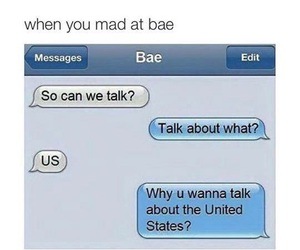 bae, mad, and text image