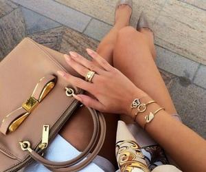 bag, heels, and mails image