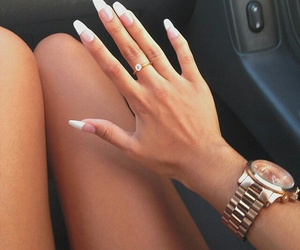 nails, watch, and ring image