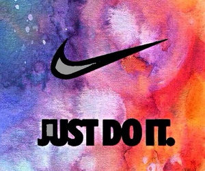 nike, Just Do It, and wallpaper image