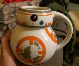 cup, star wars, and taza image