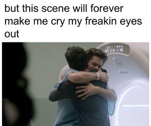 cry, sad, and scott image