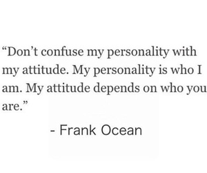 attitude, frank ocean, and personality image