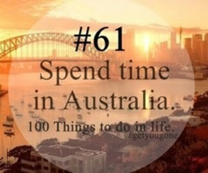 100 things to do in life, 61, and australia image