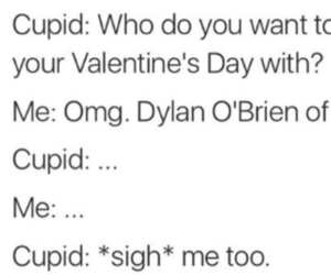 cupid, funny, and imagine image