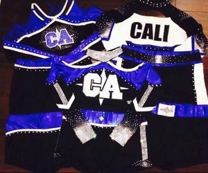 cheer, california allstars, and uniforms image