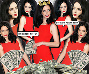 edit, krysten ritter, and photoshop image