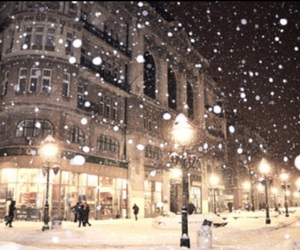 snowy, tumblr, and citylife image