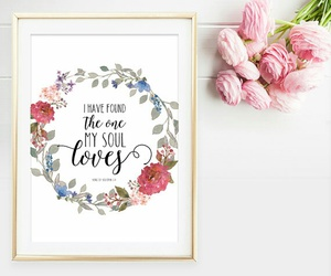 beautiful, bible, and flower image
