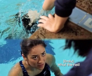 pretty little liars and emily fields image