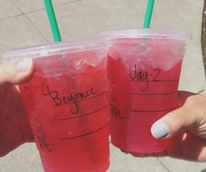 starbucks, beyoncé, and jay-z image