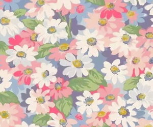 flowers, pattern, and iphonewallpaper image