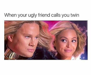 funny, beyoncé, and channing tatum image