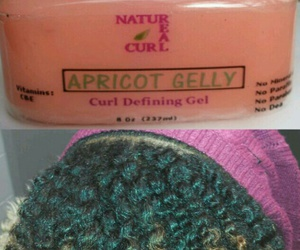 curls, naturalhair, and gel image