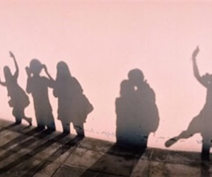 pink, shadow, and friends image