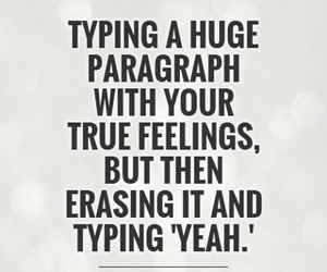 quotes, feelings, and paragraph image