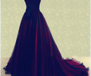dresses, evening dress, and prom dress image