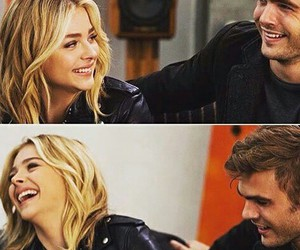 chloe moretz, the 5th wave, and alex roe image