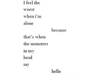 monster, quotes, and creepypasta image