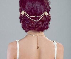 boda, fiesta, and peinados image