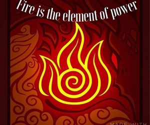 avatar, element, and fire image