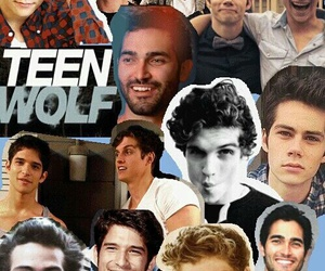 teen wolf and Collage image