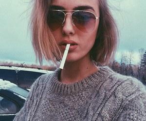 grunge, smoke, and tumblr image