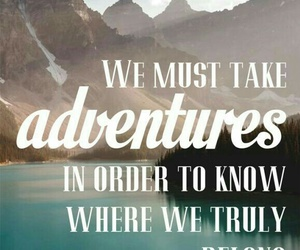 adventure, freedom, and quote image