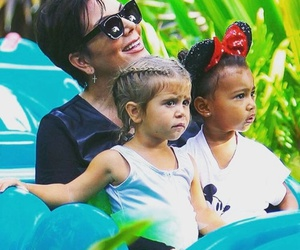 north west, kris jenner, and penelope disick image
