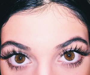 kylie jenner and eyes image