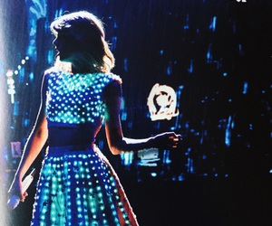 Taylor Swift and blue image