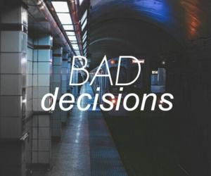 bad, dark, and subway image