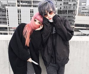 couple and kawaii image