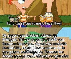funny, ferb, and phineas image