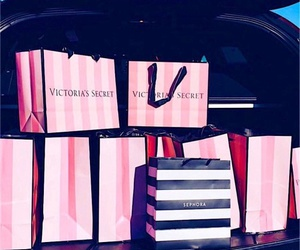 Victoria's Secret, bags, and shopping image