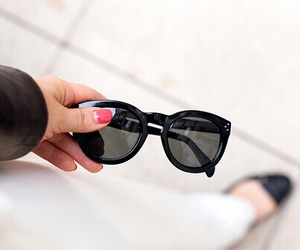 sunglasses, fashion, and girl image