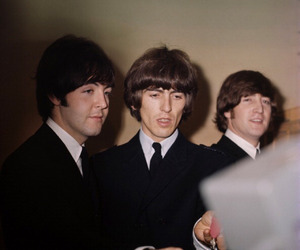 1960s, beatles, and george harrison image
