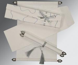 scroll invitations, wedding scrolls, and scroll wedding cards image