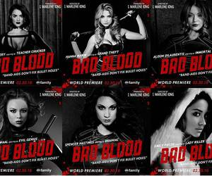 pretty little liars, bad blood, and pll image