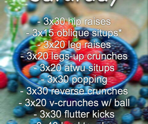 workout, summer, and get fit image