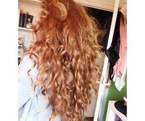 ginger, rousse, and long hair image