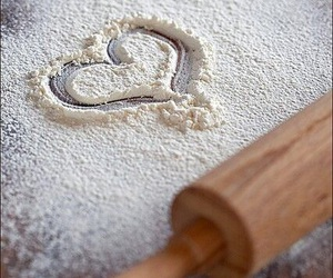 heart, love, and baking image