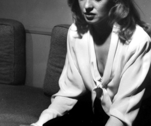 beauty, black and white, and Marilyn Monroe image