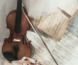 music, violin, and ballet image